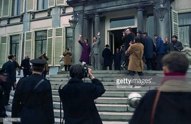 Princess Irene Of Holland And Fiance Charles Hugues De BourbonParma Au PaysBas dans la province d'Utrecht en février 1964 la princesse IRENE DE...