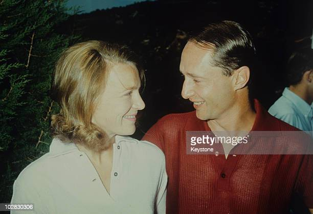 Princess Irene of the Netherlands and her husband Carlos Hugo Duke of Parma in Parma Italy 1966