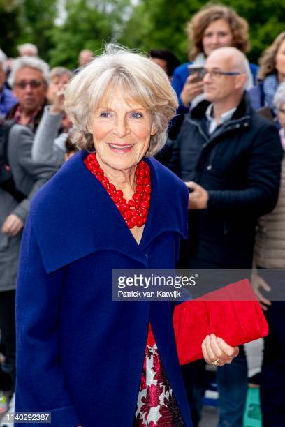 Princess Irene of The Netherlands attends the 80th birthday celebrations for Pieter van Vollenhoven on April 30 2019 in Zeist Netherlands