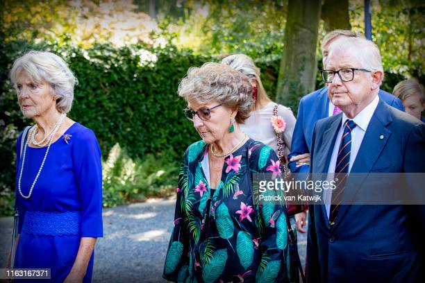 Princess Irene of The Netherlands Princess Margriet of The Netherlands and Pieter van Vollenhoven attend the funeral of Princess Christina at the...