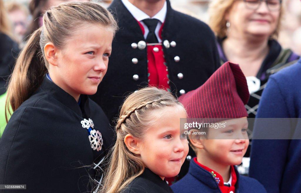 Danish Royal Family Visit The Faroe Islands In The North Atlantic : News Photo