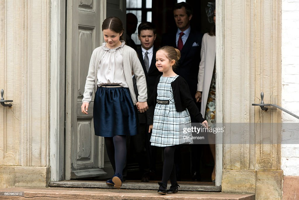 Prince Felix Of Denmark Celebrates His Confirmation : News Photo