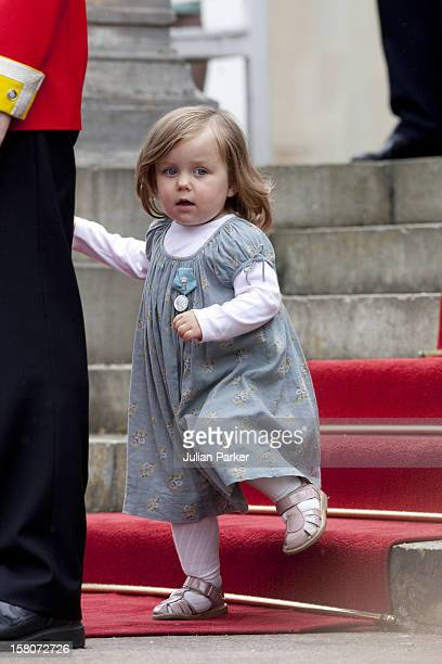 Princess Isabella Of Denmark Attends A Parade At Fredensborg Palace To Celebrate Prince Henriks 75Th Birthday