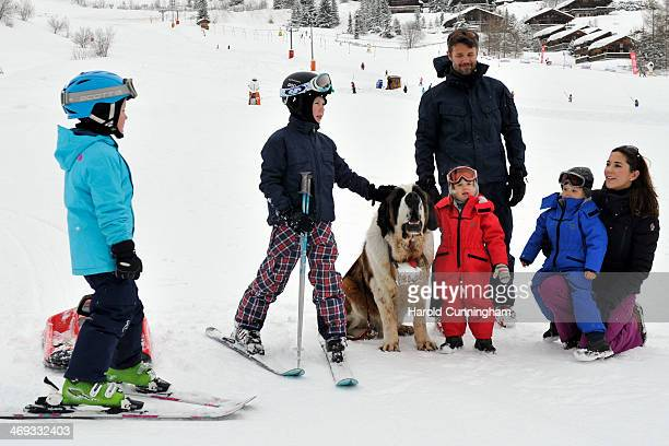 Princess Isabella of Denmark Prince Christian of Denmark Crown Prince Frederik of Denmark Princess Josephine of Denmark Prince Vincent of Denmark and...