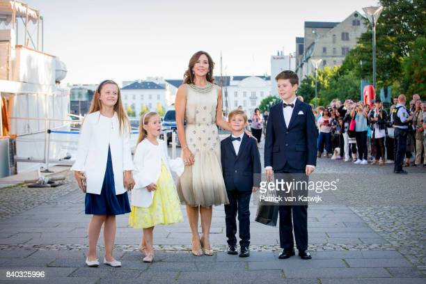 Princess Isabella of Denmark Princess Josephine of Denmark Crown princess Mary of Denmark Prince Vincent of Denmark and Prince Christian of Denmark...