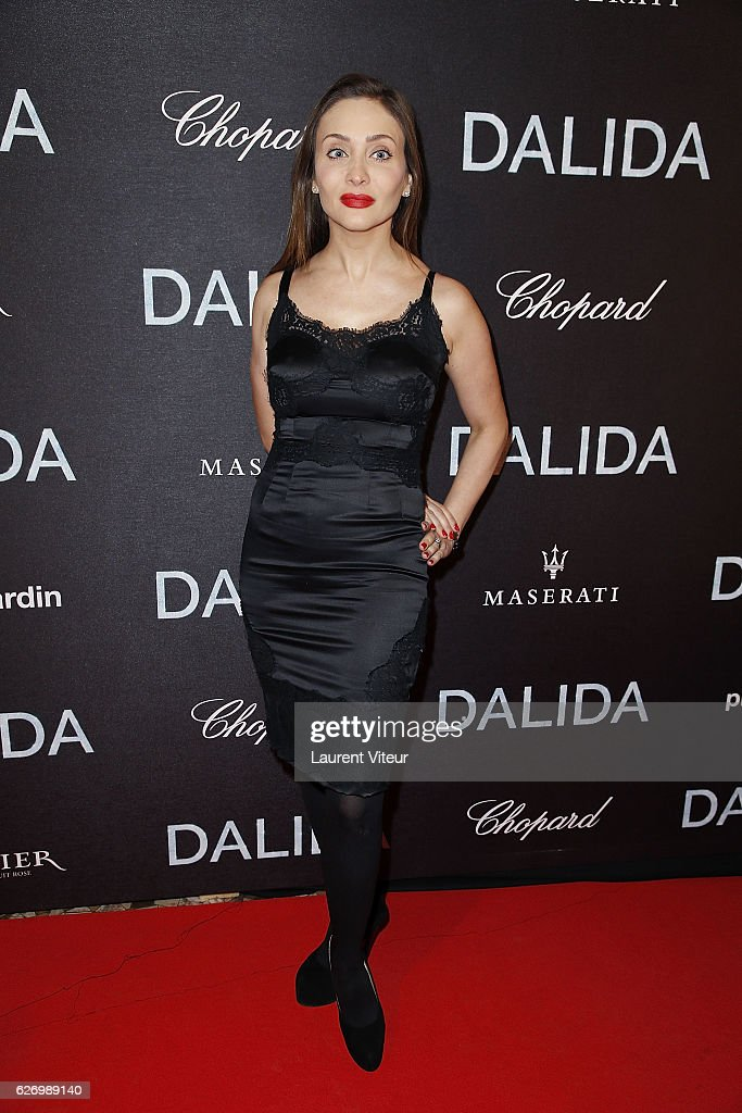 """Dalida"" Paris Premiere At L'Olympia in Paris"