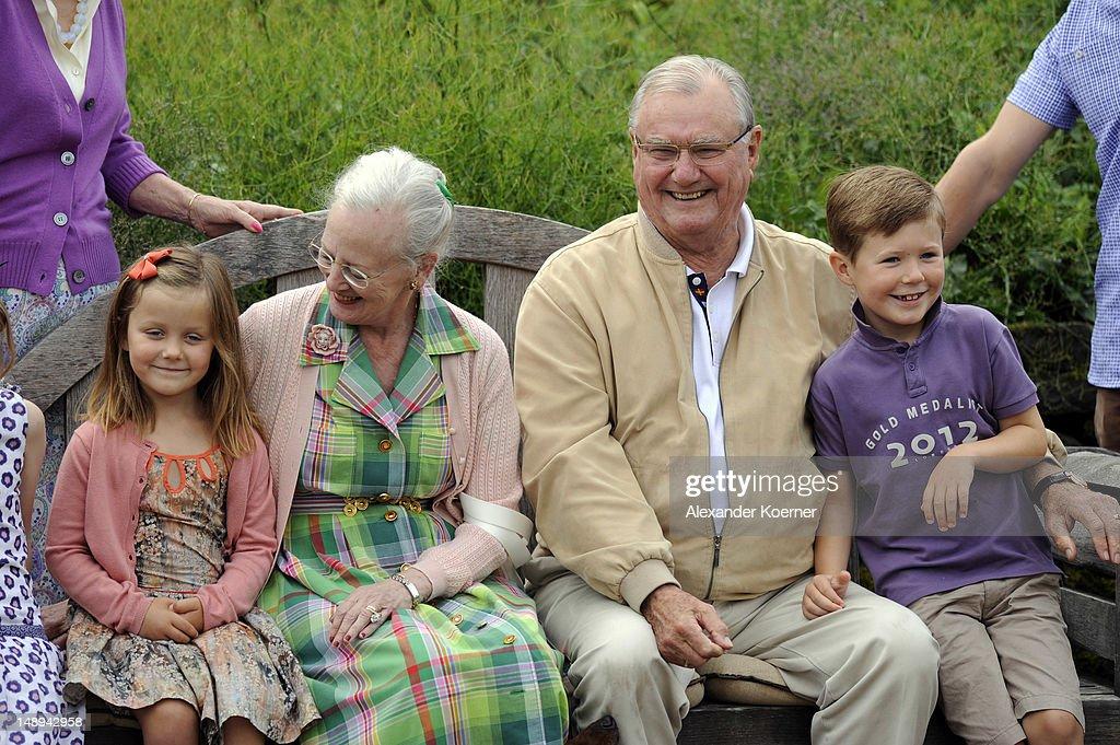 Danish Royal Family - Summer Photocall 2012