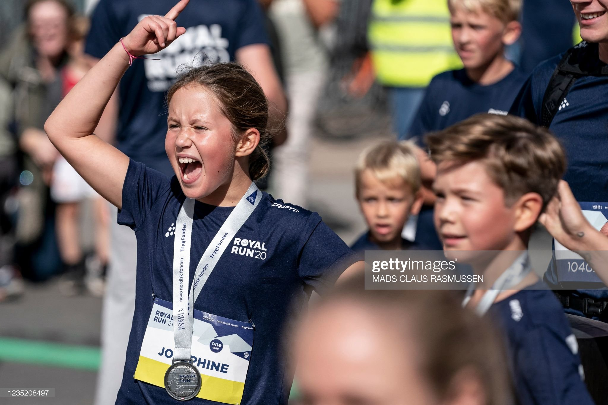 DENMARK-HISTORY-ROYALS-RUN : News Photo