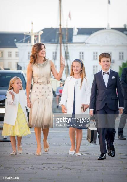 Princess Josephine of Denmark Crown princess Mary of Denmark Princess Isabella of Denmark Prince Vincent of Denmark and Prince Christian of Denmark...