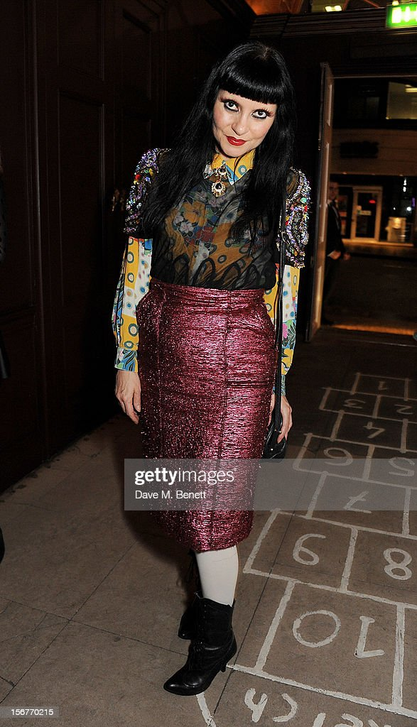 Princess Julia attends the launch of House of Voltaire, the new pop-up shop from acclaimed London art space Studio Voltaire, at Sketch on November 20, 2012 in London, England.