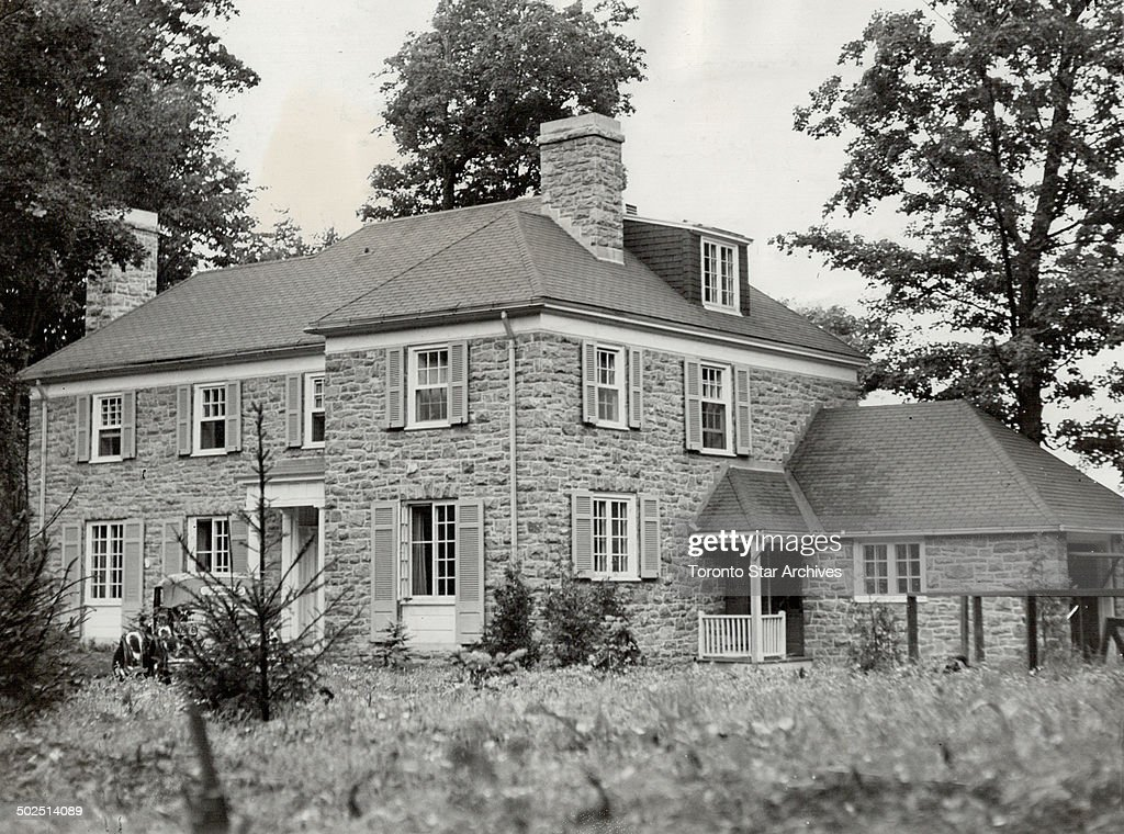 Princess Juliana's new home. Ottawa; July 25.-When Princess Juliana and her two little daughters mov : Nieuwsfoto's