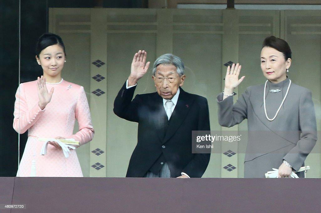 Japan's Royal Family New Year Greeting : ニュース写真