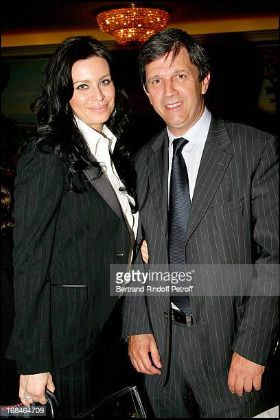 Princess Kasia Al Thani and Patrick Chene at Celine Party For The Poublot Charity Artwork For The Benefit Of The Association Children's Dreams