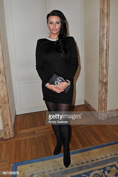 Princess Kasia Al Thani attends the 'The Children for Peace' Gala at Cercle Interallie on February 7 2014 in Paris France