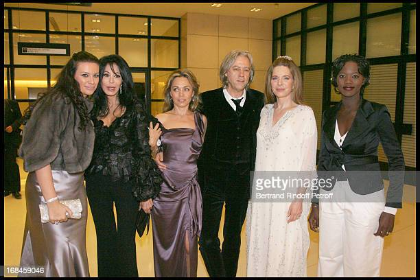Princess Kasia Al Thani Yamina Benguigui Jeanne Marine and Bob Geldof Queen Noor of Jordan and Rama Yade at 2nd International Encounters Of Cinema...