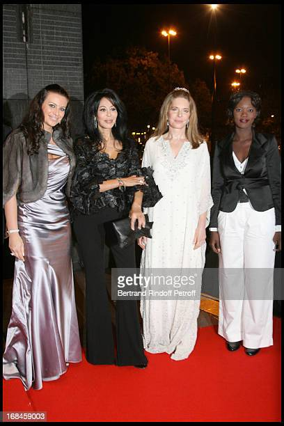 Princess Kasia Al Thani Yamina Benguigui Queen Noor of Jordan and Rama Yade at 2nd International Encounters Of Cinema Verite A Opera Bastille