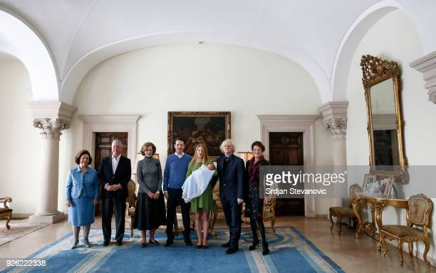 Princess Katarina Karadjordjevic Crown Prince Aleksadar Karadjordjevic Princess Maria da Gloria Prince Philip Of Serbia Danica Marinkovic Milan Cile...