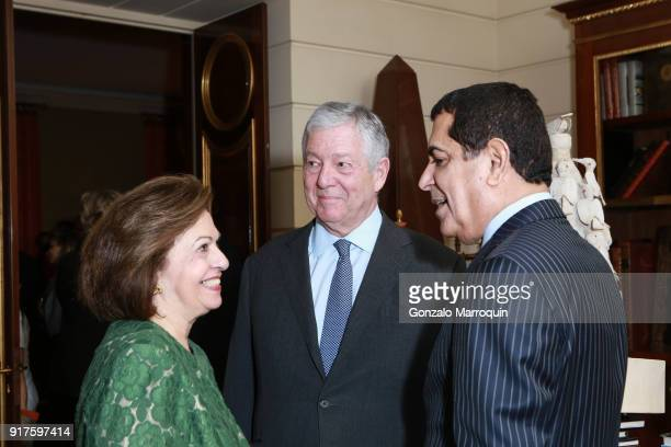 Princess Katherine of Serbia Prince Alexander of Serbia and Nassir Abdulaziz AlNasser during the Susan Gutfreund Hosts UN Women For Peace Association...