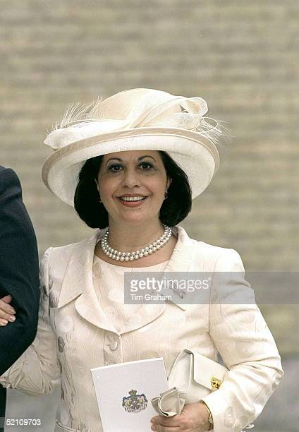 Princess Katherine Of Yugoslavia Arriving For The Wedding Reception For Princess Alexia Of Greece And Carlos Morales Quintana At Kenwood House,...