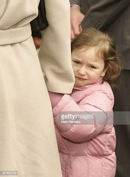 Princess Laetitia of Belgium, who turns three today, attends 14 Days of The Belgian Red Cross April 23, 2006 in De Panne, Belgium. Princess Astrid is...
