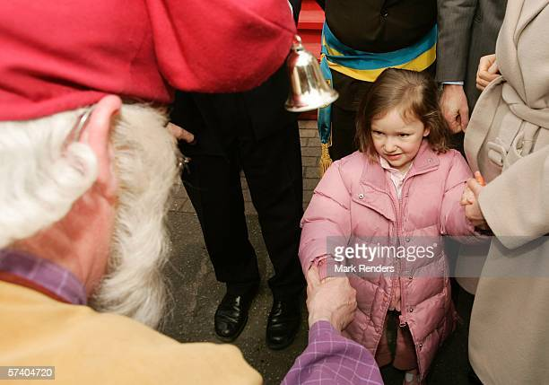 Princess Laetitia, who turns three today, attends 14 Days of The Belgian Red Cross April 23, 2006 in De Panne, Belgium. Princess Astrid is president...
