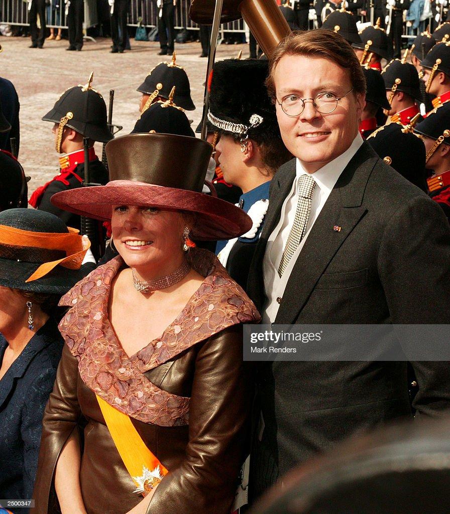 Princess Laurentien and Prince Constantijn : News Photo