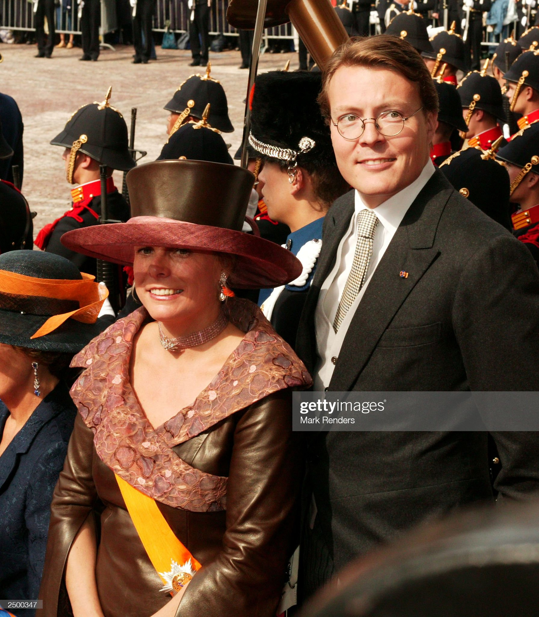 Princess Laurentien and Prince Constantijn : News Photo