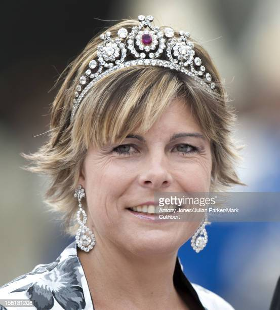 Princess Laurentien At The Wedding Of Crown Princess Victoria Of Sweden And Daniel Westling At Stockholm Cathedral