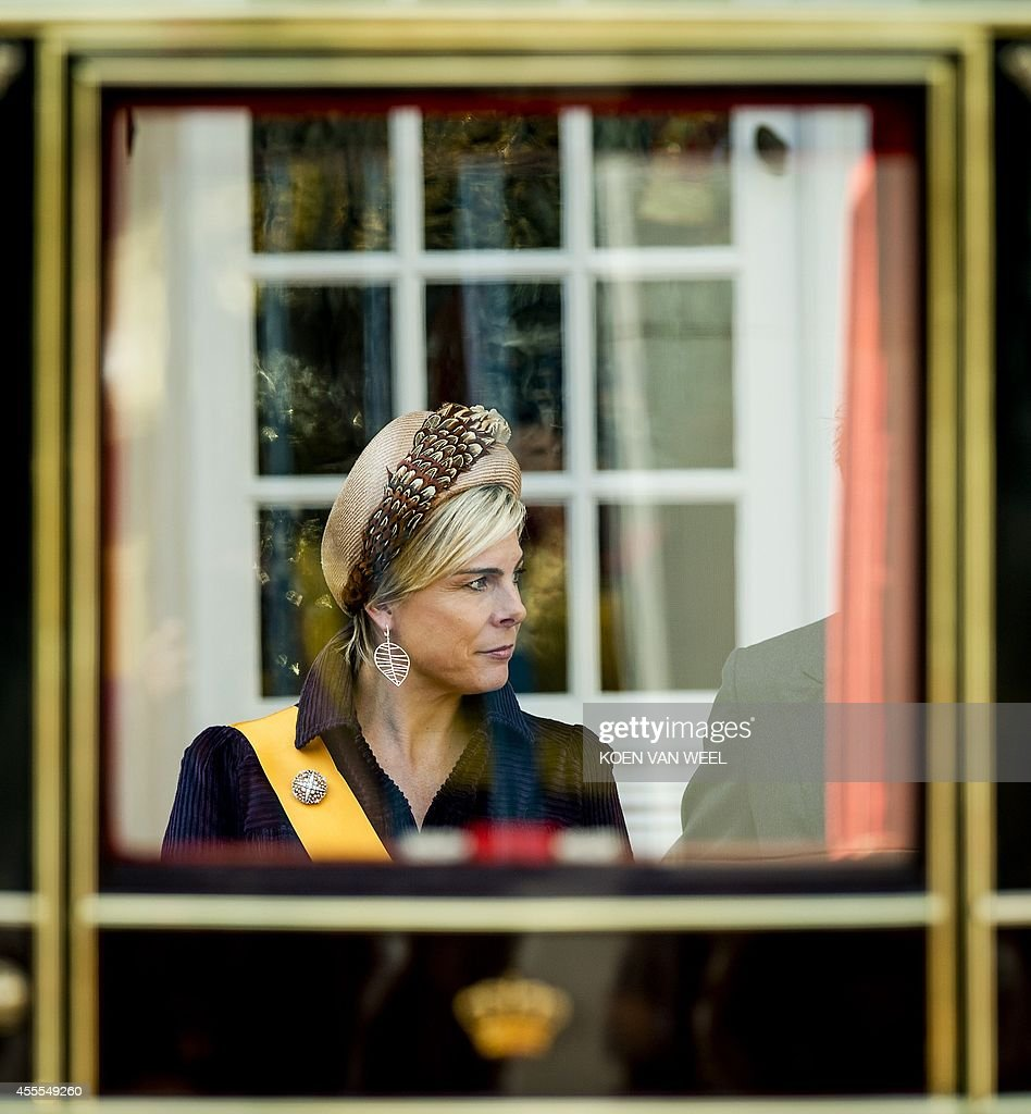 NETHERLANDS-PARLIAMENT-ROYALS : News Photo