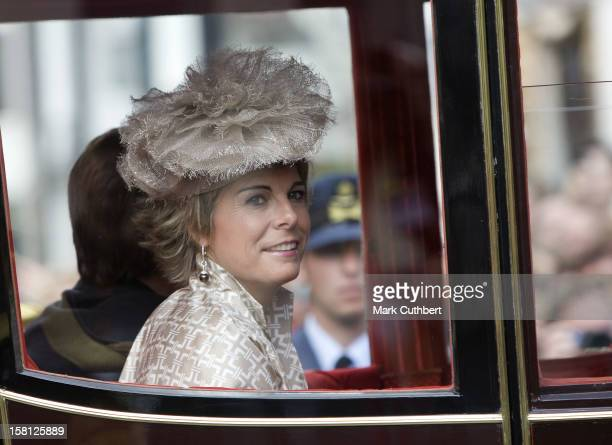 Princess Laurentien Of Holland With The Rest Of The Dutch Royal Family At Noordeinde Palace In Den Haag During The Prince'S Day Celebrations