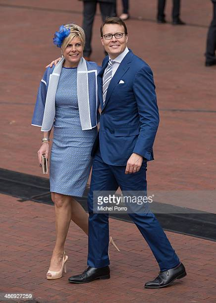 Princess Laurentien of The Netherlands and Prince Constantijn of The Netherlands attend King's Day on April 26 2014 in Amstelveen Netherlands