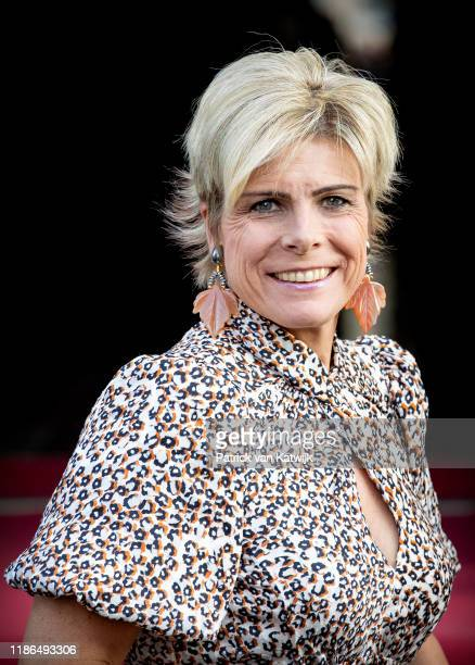 Princess Laurentien of The Netherlands attend the Prince Claus Award ceremony in the Royal Palace on December 4, 2019 in Amsterdam, Netherlands....