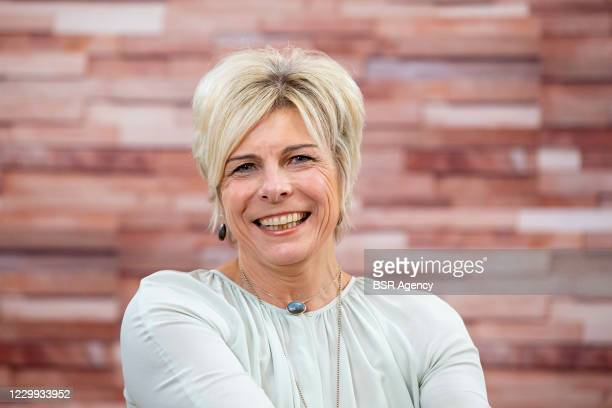 Princess Laurentien of The Netherlands presents a digital meeting to focus on the participation of people with a disability on December 3, 2020 in...