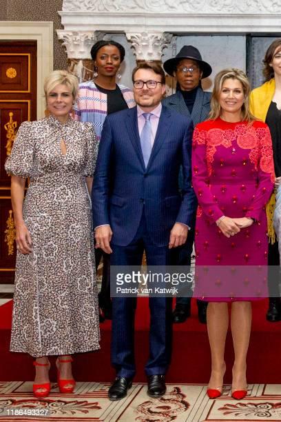 Princess Laurentien of The Netherlands Prince Constantijn of The Netherlands and Queen Maxima of The Netherlands attend the Prince Claus Award...