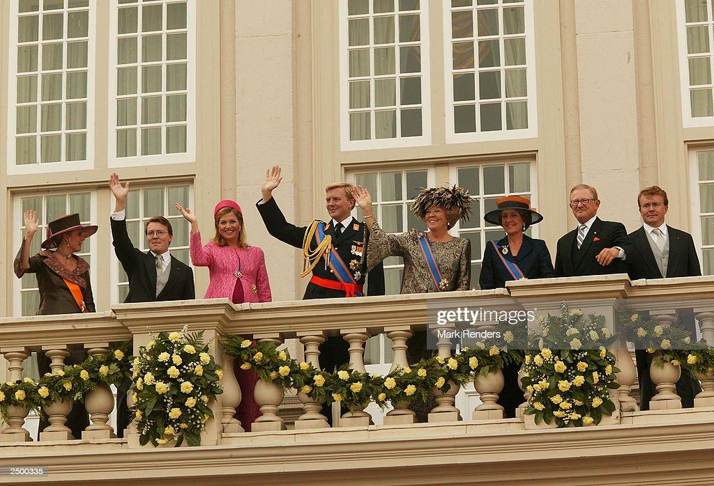 Queen Beatrix Opens Dutch Parliament : News Photo