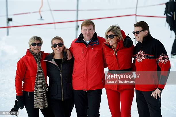 Princess Laurentien Princess Mabel King WillemAlexander of the Netherlands Queen Maxima of the Netherlands of The Netherlands and Prince Constantijn...