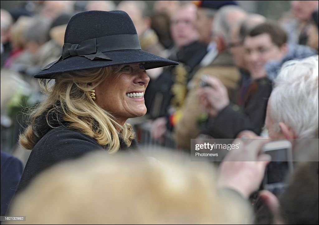 Belgian Royal Family Attend Remembrance Mass : News Photo
