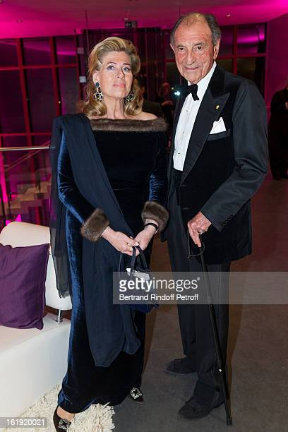 Princess Lea of Belgium acting as honorary chairperson of the event and Zahedi Ardeshir former Iranian diplomat attend the 30th edition of 'La Nuit...