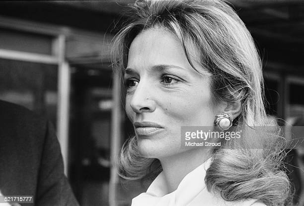 Princess Lee Radziwill, sister of former US First Lady, Jacqueline Kennedy at London Airport after the recent shooting of Senator Robert Kennedy,...