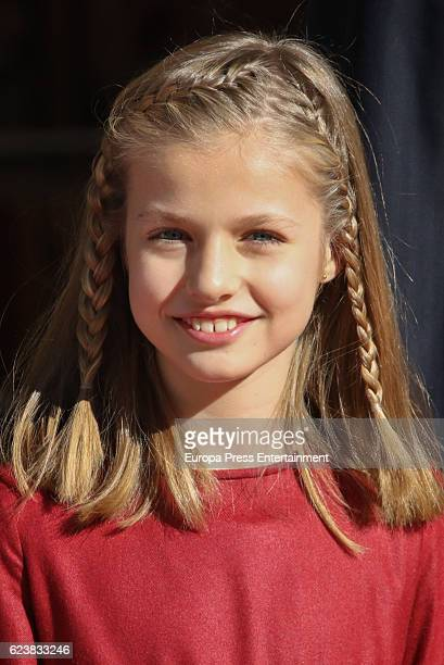 Princess Leonor attends the opening ceremony of 12th legislative session at the Spanish Parliament on November 17 2016 in Madrid Spain