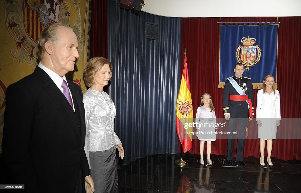 Princess Leonor of Asturias's Wax Figure Unveiled at The Wax Museum : News Photo