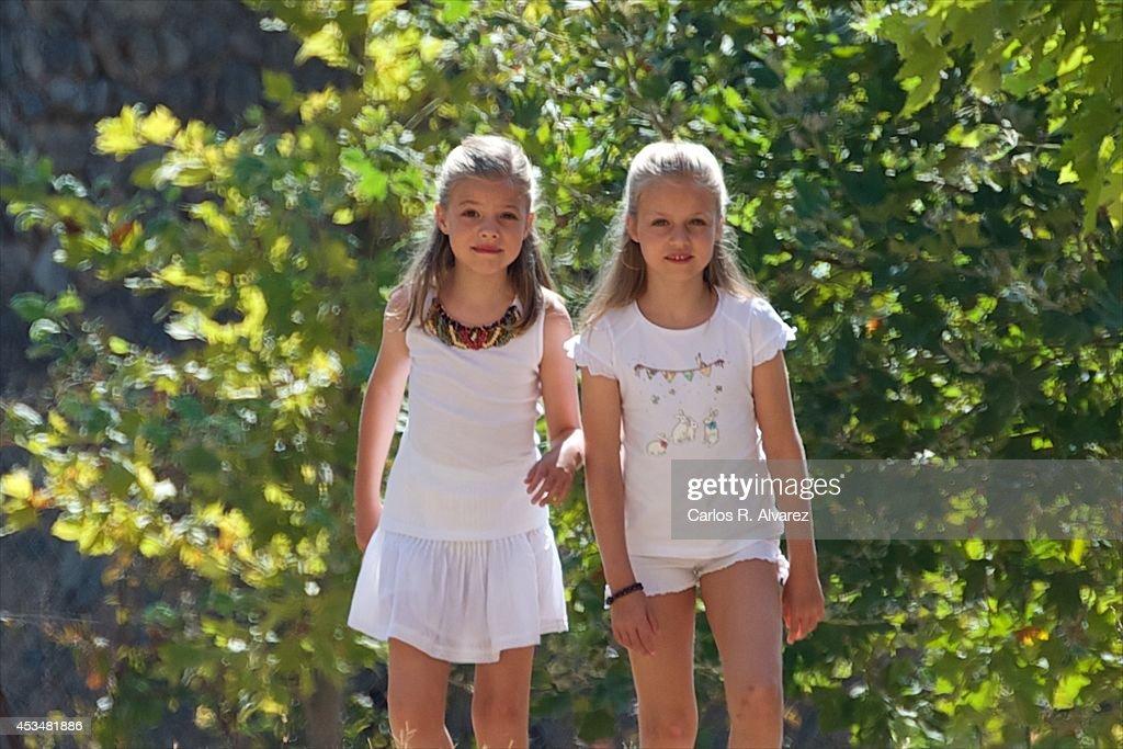 "Spanish Royals Visit ""Sierra de Tramuntana"" In Palma De Mallorca"