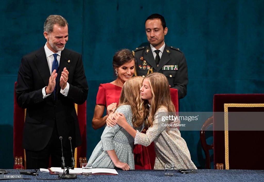 Ceremony - Princess of Asturias Awards 2019 : News Photo