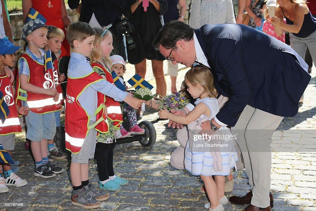 Princess Leonore Of Sweden Visits Gotland : News Photo