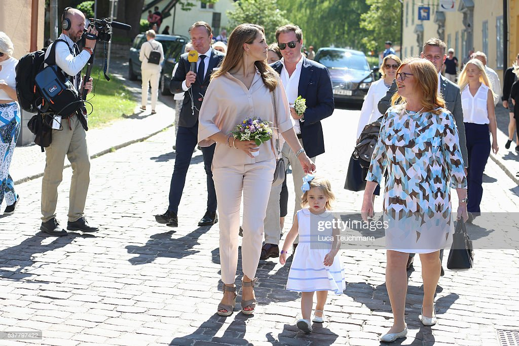 Princess Leonore Of Sweden Visits Gotland : News Photo