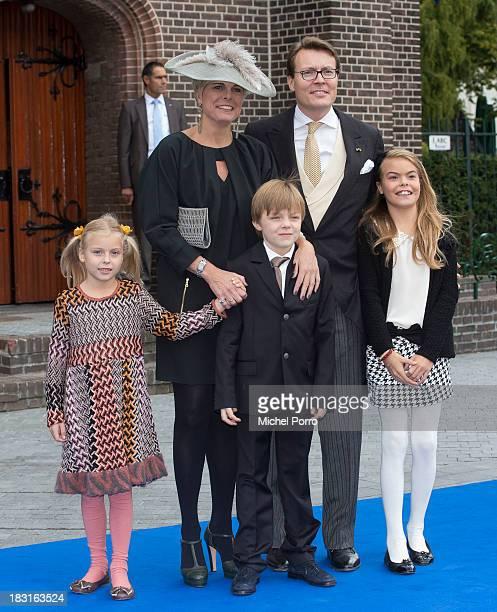 Princess Leonore of The Netherlands, Princess Laurentien of The Netherlands, Prince Claus-Casimir of The Netherlands, Prince Constantijn of The...