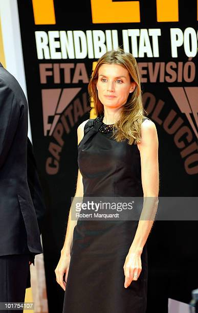 Princess Leticia of Spain attends the 13th annual PIMES awards at the Palau Sant Jordi on June 7 2010 in Barcelona Spain