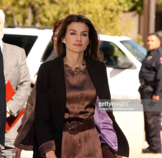 Princess Letizia attends a meeting with the Advisory Board at the University of New Mexico on October 5 2009 in Albuquerque New Mexico