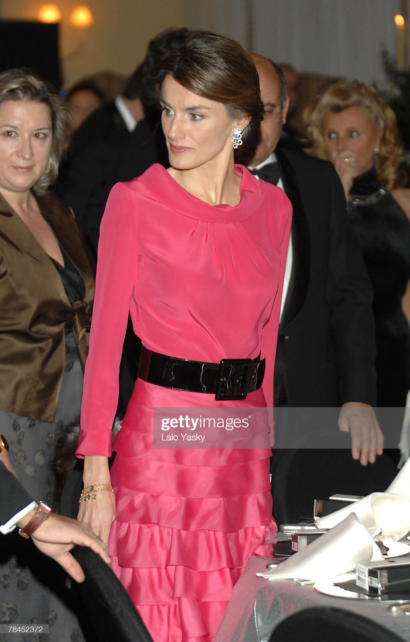 Royals attend the Gala Dinner for the American Commerce Chamber : News Photo