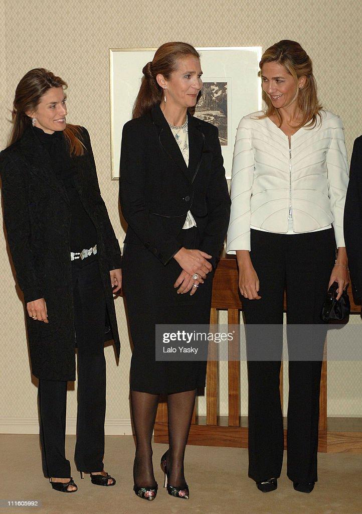 Spanish Royal Family Preside Concert to Benefit Alzheimer's Project - September 21, 2006